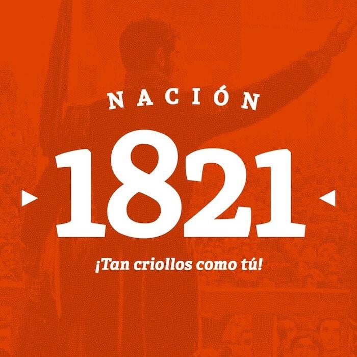 Nacion 1821 Logo